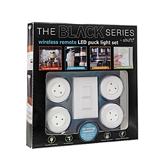 UPC 694202106938 product image for The Black Series Menu0027s 4pk Wireless  Remote Puck Light Set ...