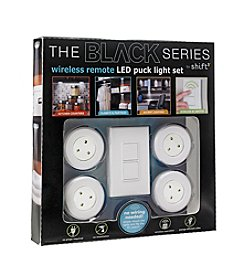 The Black Series Men's 4pk Wireless Remote Puck Light Set