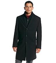 """MICHAEL Michael Kors® Men's 38"""" Black Wool Top Coat"""
