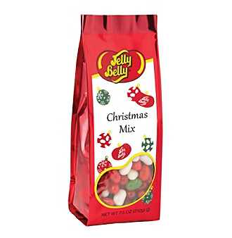 Jelly Belly® 7.5-oz. Jelly Belly Christmas Mix Gift Bag