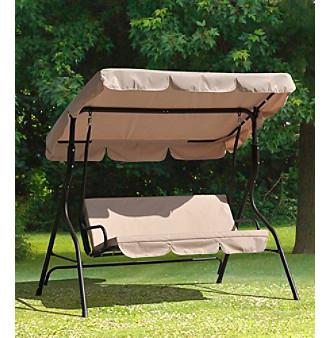Sunjoy Webster 3-Seat Swing