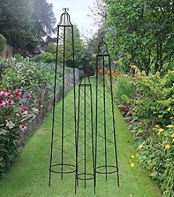 Sunjoy Set of Three Fruitvale Garden Trellis