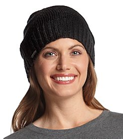 Steve Madden Knit Solid Beanie Hat