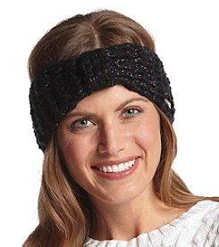 Steve Madden Glitter Knit Headband