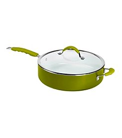 Bella 6-qt. Green Covered Jumbo Cooker with Assist Handle