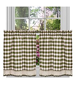 Achim Buffalo Check Window Treatment