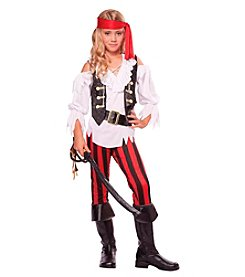 Posh Pirate Child Costume