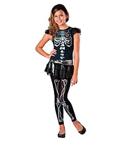 Skeleton Bling Tween Costume