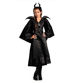 Disney® Maleficent® Deluxe Black Girls Dress Costume