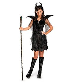 Disney® Maleficent® Deluxe Black Tween/Teen Gown and Headpiece