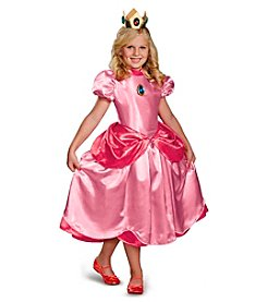 Nintendo® Super Mario Bros.® Deluxe Princess Peach Child Costume