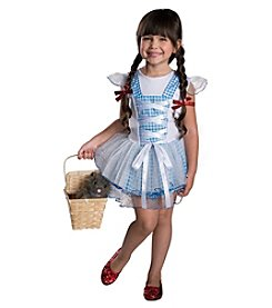 The Wizard of Oz Dorothy Tutu Girls Costume