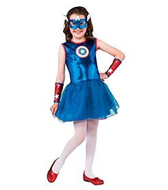 Marvel® Captain America® Girl's Child Costume