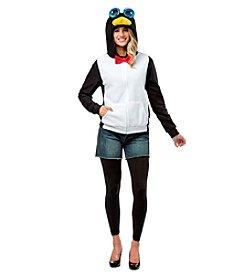 Penguin Hoodie Adult Costume
