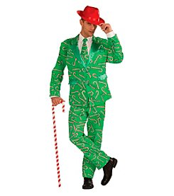 Candy Cane Suit Adult Costume