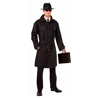 Spy Trench Coat Adult Costume Accessory plus size,  plus size fashion plus size appare