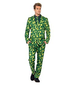 St. Patrick's Day Themed Suit Adult Costume