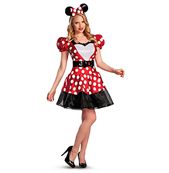 Glam Red Minnie Adult Costume