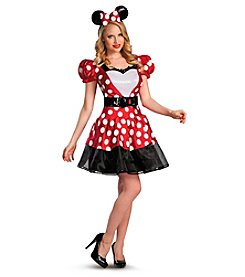 Disney® Glam Red Minnie Adult Costume