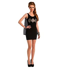 DC Comics® Batgirl Tank Dress Rhinestone Logo Adult Costume