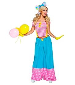 Floppie The Clown Adult Costume