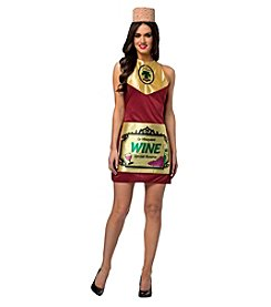 Wine Bottle Dress Adult Costume