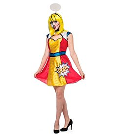 Comic Book Girl Adult Costume