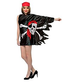 Pirate Flag Dress Adult Costume