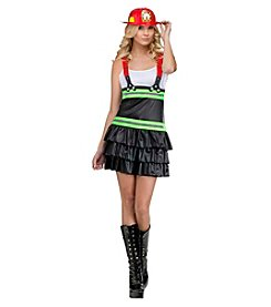 Wild Fire Firefighter Adult Costume