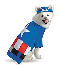 Pet Captain America® Costume