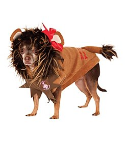 The Wizard Of Oz® Cowardly Lion Dog Costume