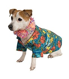 Luau Jacket and Lei Pet Costume