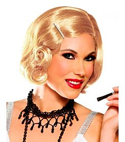 Honey Blonde Pin Curl Cute Wig