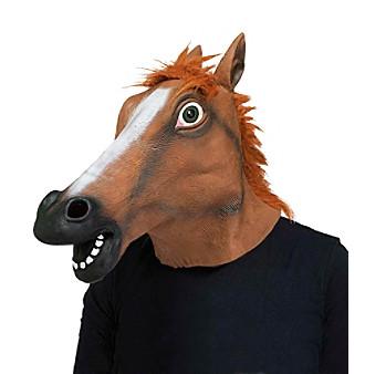 Horse Head Adult Mask