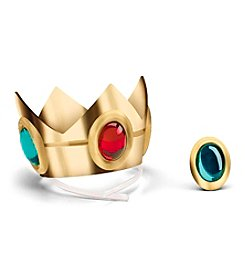 Nintendo® Super Mario Bros.® Princess Peach Crown and Amulet