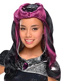 Ever After High™ Raven Queen Wig with Headpiece