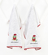 Ritz™ Holiday Owl 2-pk. Kitchen Towels