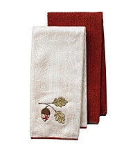 Ritz™ Acorn 2-pk. Microfiber Kitchen Towels