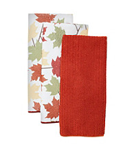 Ritz™ Acorn Leaf 3-pk. Microfiber Kitchen Towels