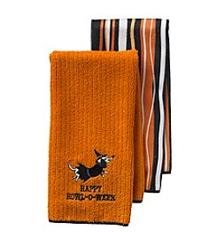 Ritz™ Happy Howl-Oween Witch 2-pk. Kitchen Towels