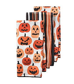 Ritz™ Pumpkin 3-pk. Kitchen Towels