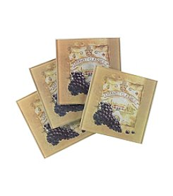 LivingQuarters Chianti Classico 4-pk. Coasters