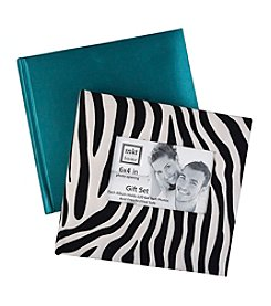 MKT@Home 4x6'' Zebra and Teal 2-pk. Photo Albums