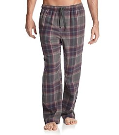John Bartlett Statements Men's Grey/Grape Plaid Flannel Sleep Pants