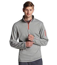 Exertek® Men's Grey Active Long Sleeve Quarter-Zip Pullover Fleece