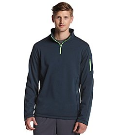 Exertek® Men's Midnight Navy Active Long Sleeve Quarter-Zip Pullover Fleece