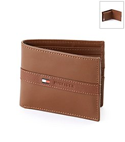 Tommy Hilfiger® Men's Tan Ranger Passcase Leather Wallet