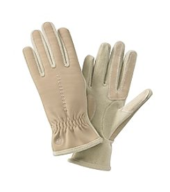 Isotoner® Signature Spandex/Fleece Gloves with Contrast Stitch