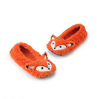 93a24a65b27e UPC 086694228500 product image for Fuzzy Babba® Furry Critter Fox Slippers  ...