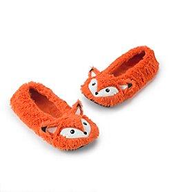 Fuzzy Babba® Furry Critter Fox Slippers